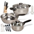 Lybra 32PC CookWare Combo Set