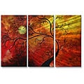 Megan Duncanson 'Sunshine Growth' Metal Wall Sculpture