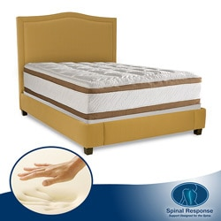 Spinal Response Secret 14.5-inch King-size Memory Foam Mattress