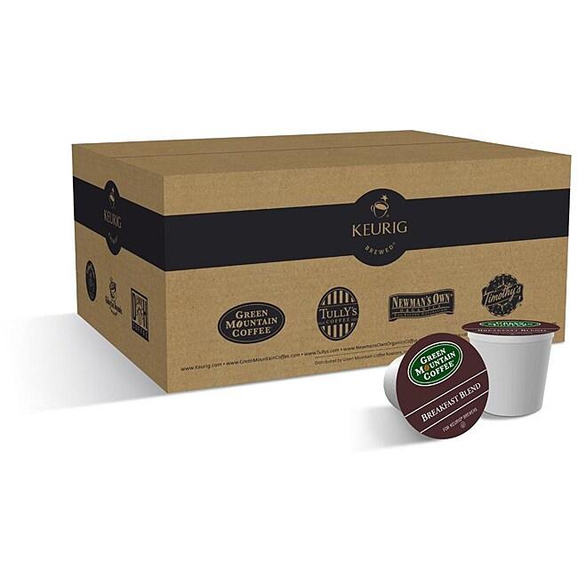 Green Mountain Coffee Breakfast Blend K-Cups (Case of 96)