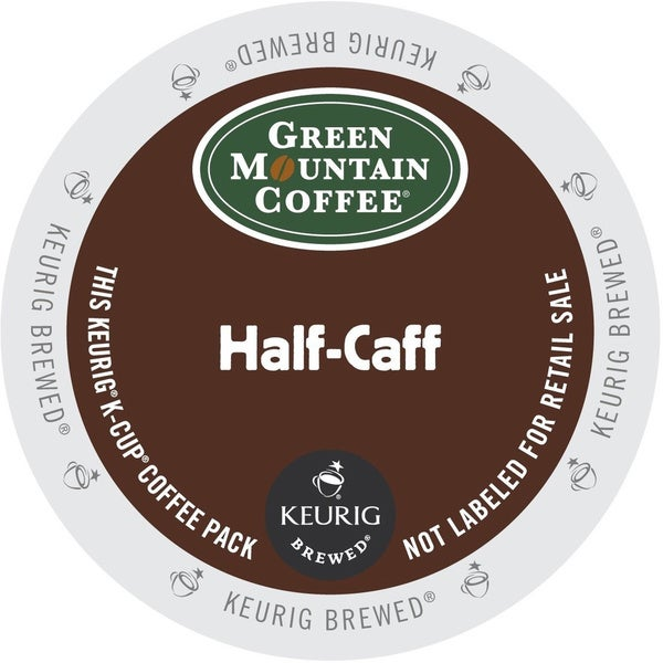 Green Mountain Coffee Half Caff K-Cup for Keurig Brewers (48 count)