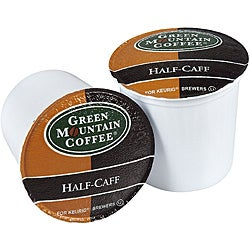 Green Mountain Coffee Half Caff K-Cup for Keurig Brewers (Case of 96)