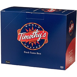 Timothy's World Coffee Cinnamon Pastry K-Cup for Keurig Brewers (Case of 96)