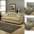 Furniture of America Nicolas Micro-Denier Fabric Sofa