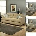 Furniture of America Nicolas Micro-Denier Fabric Sofa