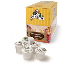 Van Houtte 100-percent Colombian Dark Coffee (96 K-Cups for Keurig Brewers)