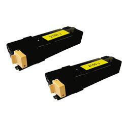 Dell 2150Y Compatible Yellow Toner Cartridges (Pack of 2)