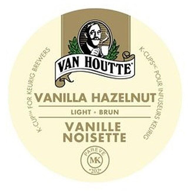 Van Houtte (Vanilla) Hazelnut Noisette Coffee K-Cups for Keurig Brewers 96 K-Cups