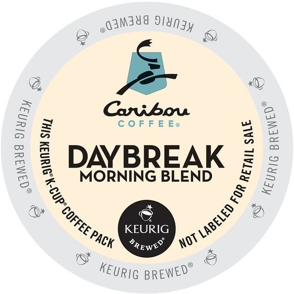 Caribou Coffee Daybreak Morning Blend K-Cups for Keurig Brewers