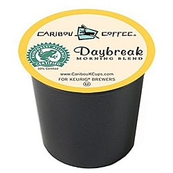 Caribou Coffee Daybreak Morning Blend K-Cups (Case of 96)