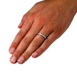 14k White Gold 1/3ct TDW Diamond Ring (G, SI1)