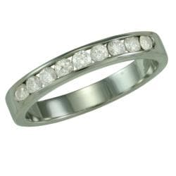 14k White Gold 1/3ct TDW Diamond Ring (G, SI1)