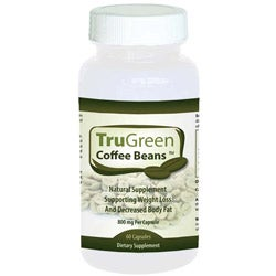 TruGreen Coffee Bean Extract 800mg Dietary Supplement (60 Capsules)
