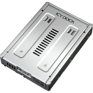 Icy Dock MB982IP-1S-1 Drive Bay Adapter - Internal - Silver