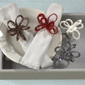 Saro Sequined and Beaded Napkin Rings (Set of 4)