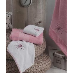 Lucia Minelli Kid's Embroidered Fairy Turkish 4-piece Towel Set