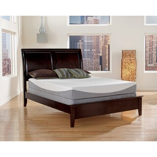 Sleep Sync 10-inch Cal King-size Gel Infused Memory Foam Mattress