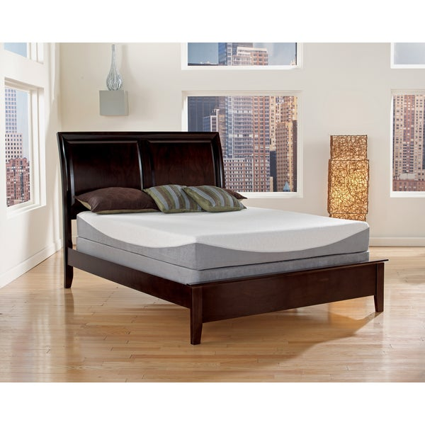 Sleep Sync 12-inch King-size Gel Infused Memory Foam Mattress