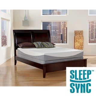 Sleep Sync 12 Inch Cal King Size Gel Infused Memory Foam Mattress