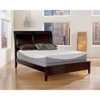 Sleep Sync 12-inch Cal King-size Gel Infused Memory Foam Mattress