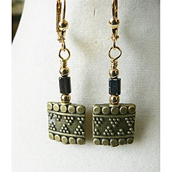 'Isis' Metal Earrings