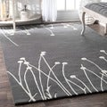 nuLOOM Handmade New Zealand Wool Rug (6' x 9')