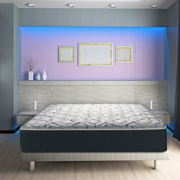 Wolf Sleep Accents Illusion Plush 11-inch Queen-size Mattress