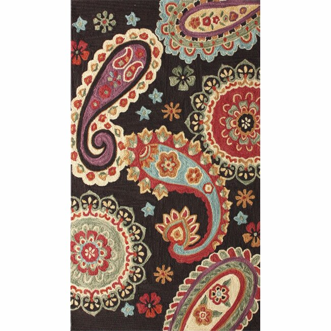 nuLOOM Handmade Paisley Brown Rug (5' x 8') at Sears.com