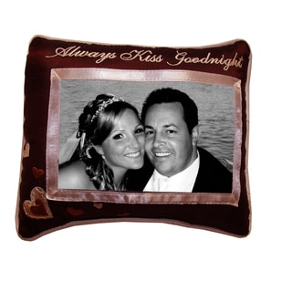 'Always Kiss Goodnight' Picture Pillow (8''x10'')