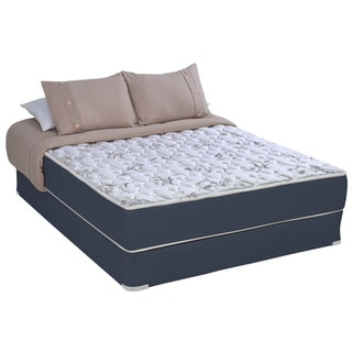 Sleep Accents Illusion Plush Queen-size Mattress / Foundation Set