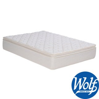 Sleep Accents Illusion Plush Pillowtop Queen-size Mattress/ Foundation Set