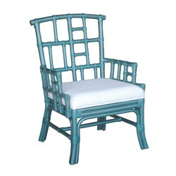Paxton Blue Occasional Chair