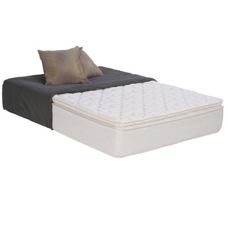 Wolf Sleep Accents Illusion Plush Pillowtop 12-inch Twin-size Mattress
