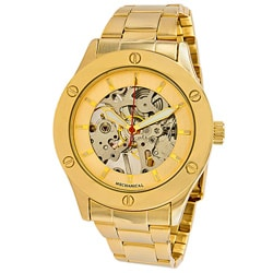 Breda Gold Women's 'Addison' Mechanical See-Through Watch