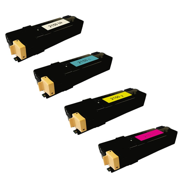 Dell 2150 331-0719 Compatible High Yield Black/ Color Toner Cartridges (Pack of 4)