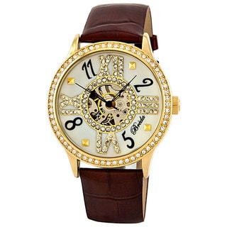 Breda Women's 'Audrey' Mechanical Hand-winding Watch