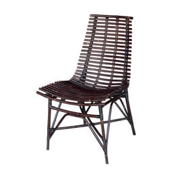 Franklin Light Black Side Chair