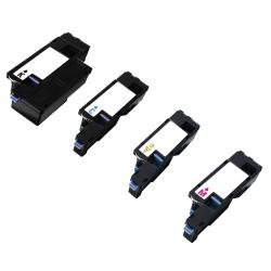 Dell 1250 / 1350 / 3K9XM / 331-0778 Compatible Black / Color Toner Cartridges (Pack of 4)