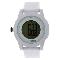 Nixon Men's A326-100 Genie All White Digital Watch