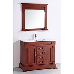 Ceramic Top 40-inch Single Sink Bathroom Vanity