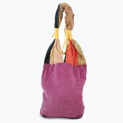Multicolored Patchwork Handbag (Nepal)