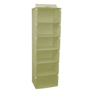 Trademark 17-inch Sage Lighted Shelf Hanging Closet Organizer Unit