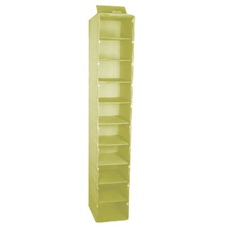 Trademark 10-inch Collapsable Lighted Closet Organizer Shelf Unit