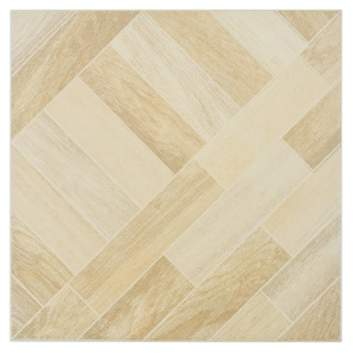 SomerTile Techwood Maple Porcelain Floor and Wall Tiles (Case of 11)