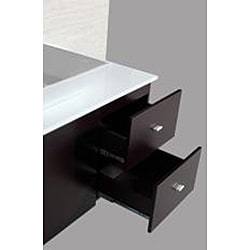 Kokols 72-inch Double Sink Vanity with Mirror and Faucets