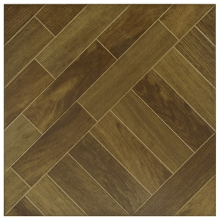 SomerTile Techwood Regia Porcelain Floor and Wall Tiles (Case of 11)