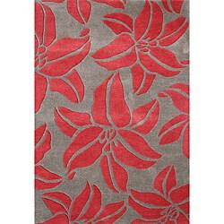 Handmade Sabrina Acorn Wool Rug (5' x 8')