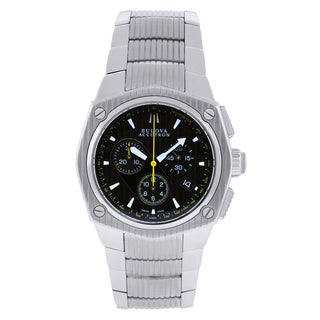 Bulova Men's 'Accutron' Silver Tone Watch