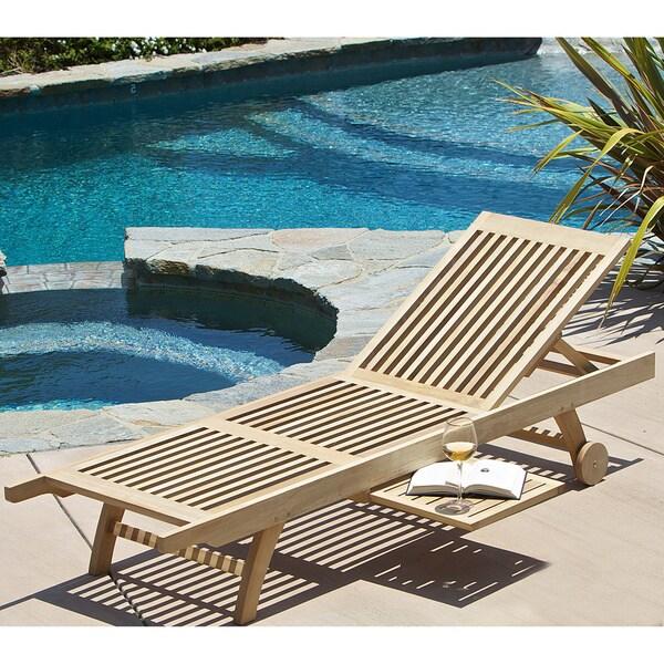 Christopher Knight Home Shoreline Outdoor Eucalyptus Lounge