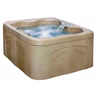 Lifesmart Rock Solid Simplicity DX Plug and Play Spa with 13 Jets